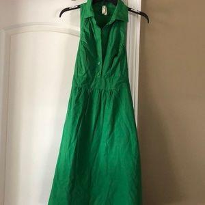 Anthropologie Kelly Green dress